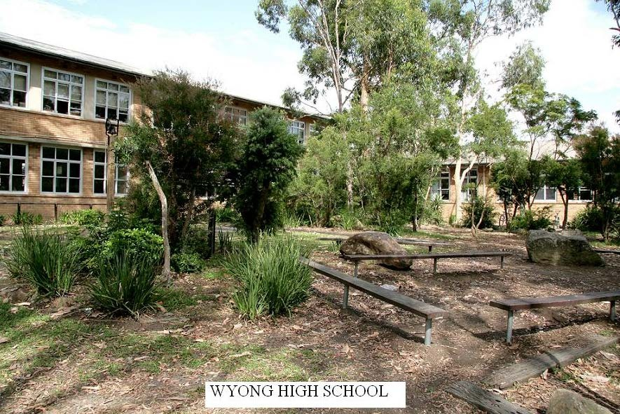 Public access to Wyong High School